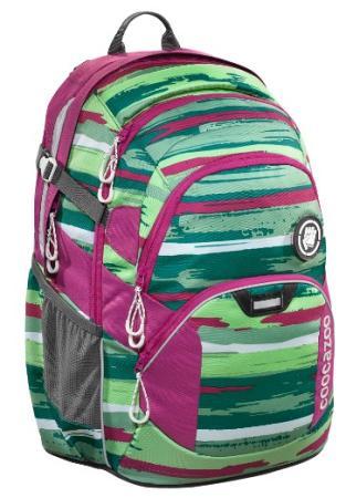 Рюкзак светоотражающие материалы Coocazoo Bartik 30 л розовый зеленый ранец светоотражающие материалы tiger family весна 14 л розовый