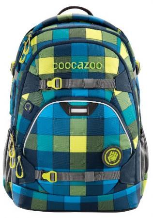 Рюкзак светоотражающие материалы Coocazoo ScaleRale Lime District 30 л бирюзовый синий ранец светоотражающие материалы tiger family весна 14 л розовый