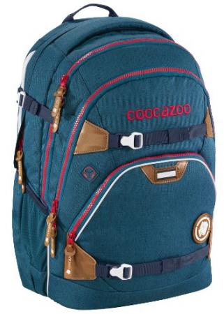 Рюкзак светоотражающие материалы Coocazoo ScaleRale MixedMelange Silent Sea 30 л синий