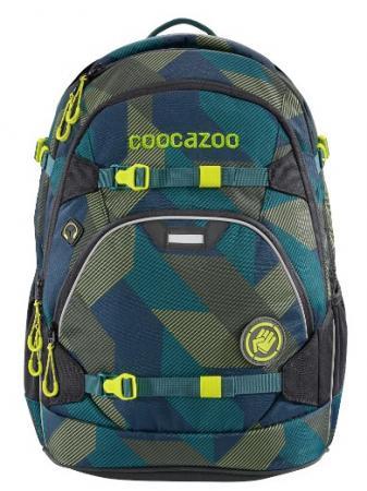Рюкзак светоотражающие материалы Coocazoo ScaleRale Polygon Bricks 30 л темно-синий серый ранец светоотражающие материалы tiger family весна 14 л розовый