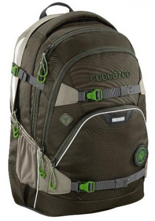 купить Рюкзак светоотражающие материалы Coocazoo ScaleRale Woodsman 30 л темно-зеленый дешево