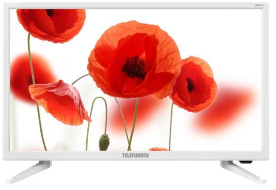 Фото - Телевизор LED 24 Telefunken TF-LED24S52T2 белый 1366x768 50 Гц USB VGA HDMI телевизор