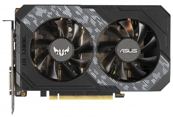 Видеокарта ASUS nVidia GeForce RTX 2060 TUF Gaming OC PCI-E 6144Mb GDDR6 192 Bit Retail TUF-RTX2060-O6G-GAMING цены онлайн