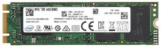 Накопитель SSD Intel SATA III 128Gb SSDSCKKW128G8XT 545s Series M.2 2280 накопитель ssd intel 540s series ssdsckkw240h6x1 240гб m 2 2280 sata iii [ssdsckkw240h6x1 948578]