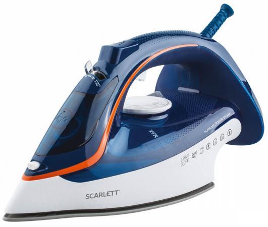 Утюг Scarlett SC-SI30K35 2400Вт синий утюг tefal fv4922e0 2400вт синий