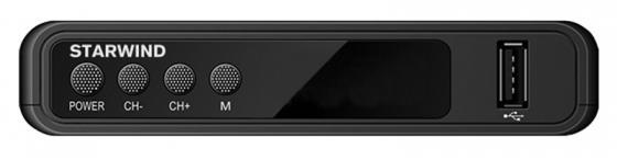 Фото - Ресивер DVB-T2 Starwind CT-120 черный ресивер dvb t2 starwind ct 100 черный
