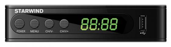 Ресивер DVB-T2 Starwind CT-200 черный