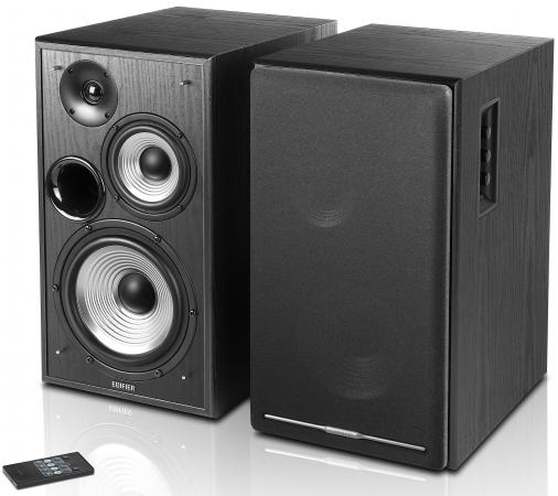 Колонки Edifier R2750DB 2.0 Black 2x78 Вт, 45-20000 Гц, пульт ДУ, Bluetooth, RCA, Coaxial, 220V
