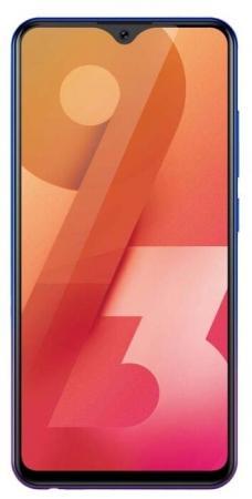 "Смартфон Vivo Y93 фиолетовый 6.22"" 32 Гб LTE Wi-Fi GPS 3G Bluetooth смартфон lenovo sisley s90 серый графитовый 5 32 гб lte wi fi gps 3g p0s3000nru"