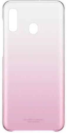 цена на Чехол (клип-кейс) Samsung для Samsung Galaxy A20 Gradation Cover розовый (EF-AA205CPEGRU)