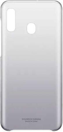 Чехол (клип-кейс) Samsung для Samsung Galaxy A20 Gradation Cover черный (EF-AA205CBEGRU) цена и фото