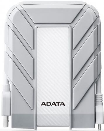 Внешний жесткий диск 1TB A-DATA HD710A Pro, 2,5 , USB 3.1, прорезиненный, белый цена