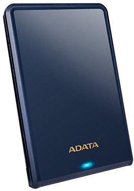 Внешний жесткий диск 1TB A-DATA HV620S, 2,5 , USB 3.1, Slim, Темно-синий темно синий slim robot armor kickstand ударопрочный жесткий корпус из прочной резины для htc desire 10