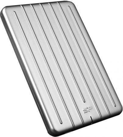 """Внешний жесткий диск 2TB Silicon Power Armor A75, 2.5"""", USB 3.1, Алюминий SP020TBPHDA75S3S silicon power diamond d03 2tb black внешний жесткий диск"""