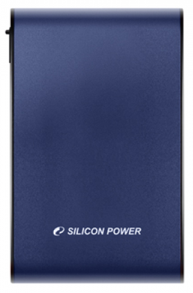 "Внешний жесткий диск 500GB Silicon Power Armor A80, 2.5"", USB 3.0, Синий hdd silicon power 500gb a60 armor black"