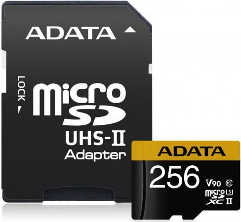 Фото - Флеш карта microSD 256GB A-DATA Premier ONE microSDXC Class 10 UHS-II U3 V90 275MB/s (SD адаптер) leslie bond bermuda voyagers ii in search of the u s s cyclops
