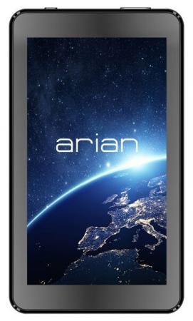 Планшет Arian Space 70 RK3126 (1.2) 4C/RAM512Mb/ROM8Gb 7 TN 1024x600/Android 5.1/черный/0.3Mpix/BT/WiFi/Touch/microSD 64Gb/minUSB/2000mAh 10pcs lot sst39vf800a 70 4c ek sst39vf800a tssop 100%new