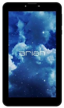 Планшет Arian Space 71 SC7731C (1.2) 4C/RAM512Mb/ROM4Gb 7 TN 1024x600/3G/Android 7.0/черный/0.3Mpix/BT/GPS/WiFi/Touch/microSD 64Gb/minUSB/2200mAh