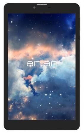 Планшет Arian Space 80 SC7731G (1.2) 4C/RAM512Mb/ROM4Gb 8 IPS 1280x800/3G/Android 7.0/графит/черный/0.3Mpix/0.3Mpix/BT/GPS/WiFi/Touch/microSD 128Gb/minUSB/3000mAh