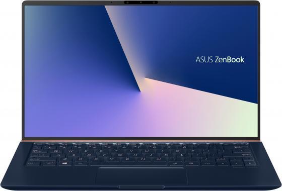 """Ноутбук Asus Zenbook UX333FA-A3071T Core i5 8265U/8Gb/SSD256Gb/Intel UHD Graphics 620/13.3""""/FHD (1920x1080)/Windows 10/dk.blue/WiFi/BT/Cam/Bag цена и фото"""