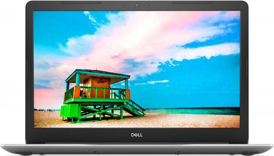 Ноутбук Dell Inspiron 3780 Core i7 8565U/8Gb/1Tb/SSD128Gb/DVD-RW/AMD Radeon 520 2Gb/17.3/IPS/FHD (1920x1080)/Linux/silver/WiFi/BT/Cam