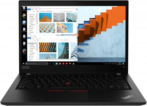 Ноутбук Lenovo ThinkPad T490 14 1920x1080 Intel Core i7-8565U 512 Gb 8Gb nVidia GeForce MX250 2048 Мб черный Windows 10 Professional 20N2000NRT