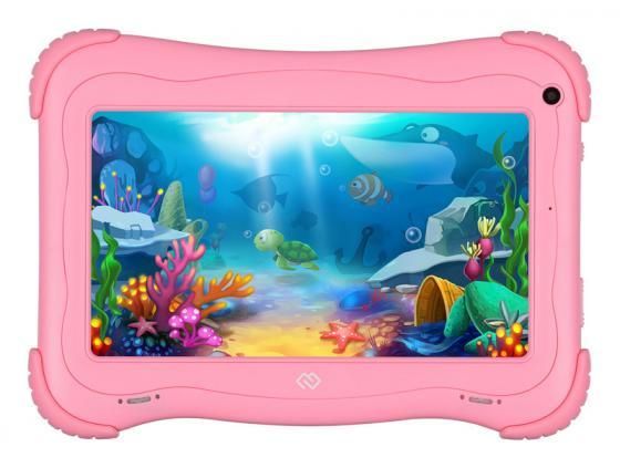 Фото - Планшет Digma Optima Kids 7 7 16Gb Pink Wi-Fi Bluetooth Android TS7203RW планшет digma optima 1026n tt1192pg spreadtrum sc7731g 1 3 1gb 16gb 10 1 1024x600 tn 3g gps 2mp 0 3mp android 7 0 black