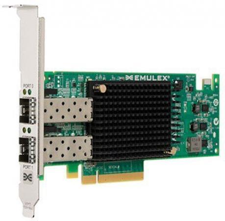 Адаптер Lenovo 01CV840 Emulex 16Gb FC Dual-port HBA коннектор безинструментальный 8p8c компьютерный разъем u utp cat 5e rj 45 10 0218