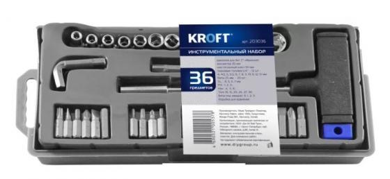 Набор головок и бит Kroft 203036 36шт набор инструментов 36шт great wall 400036
