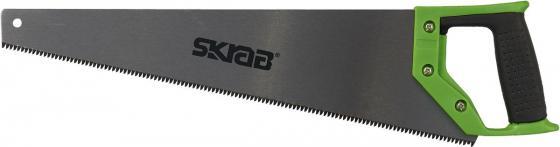 Ножовка SKRAB 20525 по дереву 400мм каленый зуб сталь SK5 цена и фото