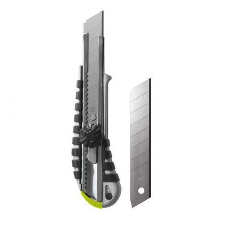 Нож с сегментным лезвием стальной ARMERO AR11/183 18мм цена
