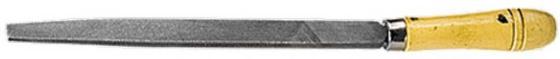 Напильник СИБРТЕХ 16232 300мм плоский деревянная ручка вилка посадочная kroft металл деревянная ручка