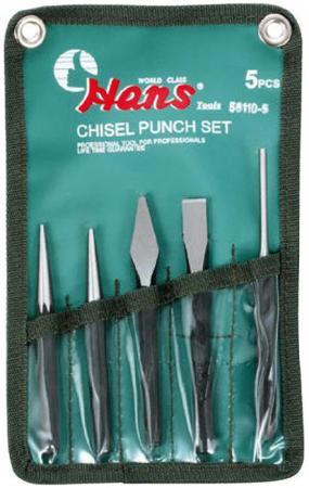 Набор инструментов HANS 56110-5 набор слесарный 5 предметов набор инструментов hans 56110 5 набор слесарный 5 предметов
