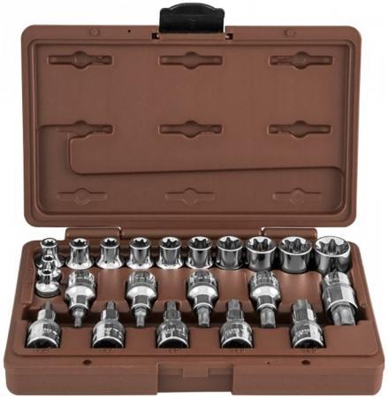 Набор головок OMBRA 953222 и насадок с вставками torx 22предмета набор головок ombra 911423 23 предмета [55310]