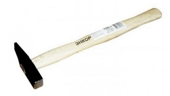 Молоток слесарный ЭНКОР 23008 300г деревянная рукоятка