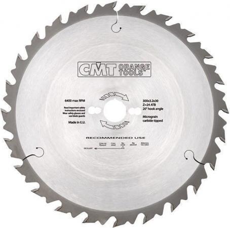 Круг пильный твердосплавный CMT 290.250.24M 250X30X2.8/1.8 20° 10° ATB Z=24 диск пильный твердосплавный cmt 293 028 12m