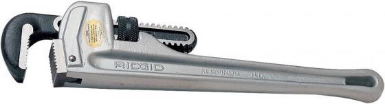 Ключ RIDGID 31090° алюминиевый прямой трубный 1.1/2 ключ трубный стиллсон ridgid 31090