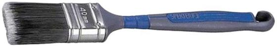 Кисть KRAFTOOL 1-01023-40 ERGO плоская искусственная щетина 40мм кисть плоская kraftool ergo 60мм 1 01022 60