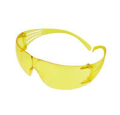 Очки 3M SecureFit 203 защитные открытые с желтыми линзами