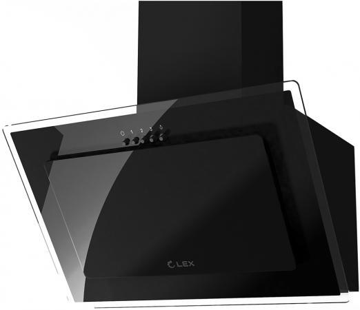 лучшая цена Вытяжка LEX MIKA G 500 BLACK 29.7x80.1x49.5см, 46 дБ, 100Вт, 700 м3/ч