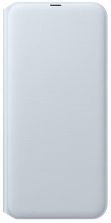 Чехол (флип-кейс) Samsung для Samsung Galaxy A30 Wallet Cover белый (EF-WA305PWEGRU) чехол флип кейс samsung для samsung galaxy j6 2018 wallet cover пурпурный ef wj600ceegru