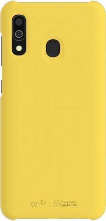 Чехол (клип-кейс) Samsung для Samsung Galaxy A30 WITS Premium Hard Case желтый (GP-FPA305WSBYW) чехол клип кейс samsung для samsung galaxy a70 wits premium hard case черный gp fpa705wsabw