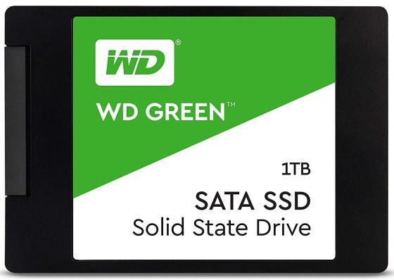 Накопитель SSD WD Original SATA III 1Tb WDS100T2G0A Green 2.5 ssd накопитель wd original 120gb wds120g2g0b green