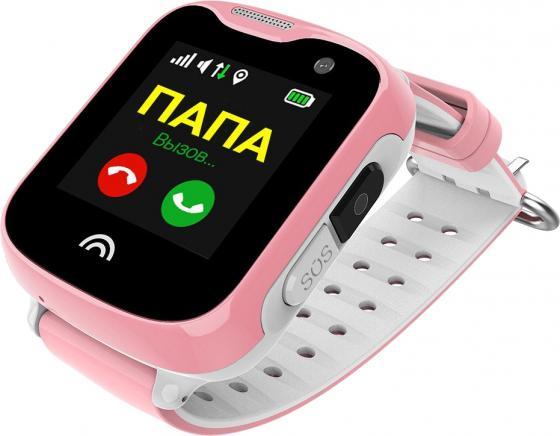 Часы-телефон WOCHI STARKS (Розовый) телефон