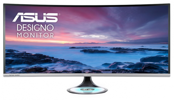 "Монитор 38"" ASUS MX38VC черный IPS 3840x1600 300 cd/m^2 5 ms DisplayPort USB Type-C HDMI 90LM03B0-B01170"