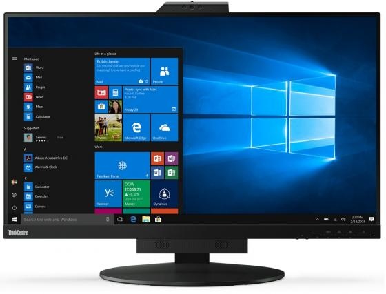 Монитор 27 Lenovo ThinkCentre TIO 27 черный IPS 2560x1440 350 cd/m^2 4 ms (G-t-G) HDMI DisplayPort USB Аудио 10YFRAT1EU
