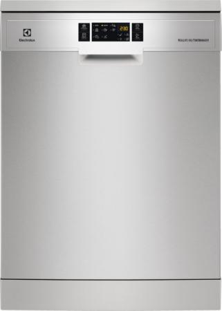 Посудомоечные машины ELECTROLUX/ РОЗНИЧНЫЙ ЭКСКЛЮЗИВ! 60 см, 15 комплектов, 6 программ, таймер, 3 корзины, 46 дБ, A++/A/A, серебристый
