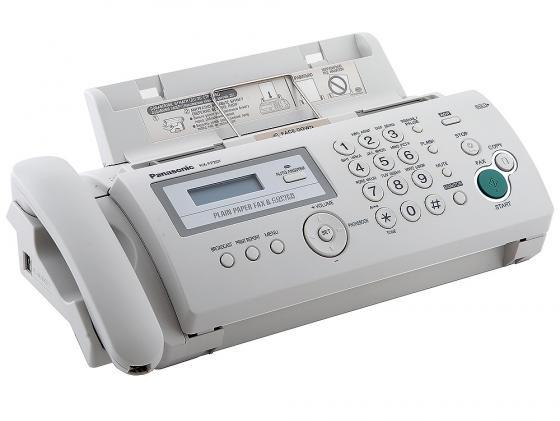 Факс Panasonic KX-FP207RU термоперенос белый цена и фото