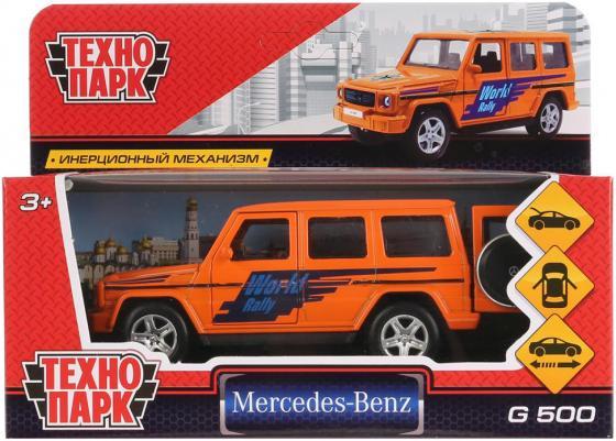 Машинка ТЕХНОПАРК Mercedes-Benz G-Class Спорт оранжевый машинка радиоуправляемая mz mercedes benz 2370pf
