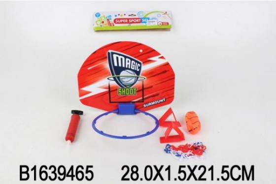 Игровой набор Shantou баскетбол 3 предмета